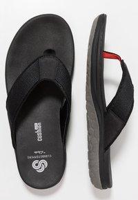 Clarks - STEP BEAT DUNE - T-bar sandals - black - 1