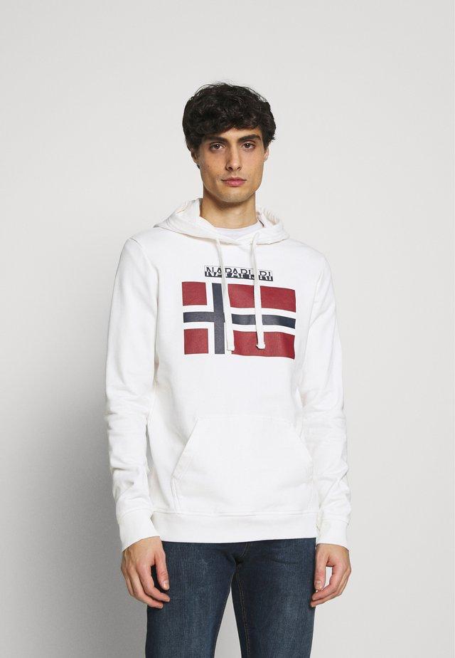 BELLYN - Mikina skapucí - bright white