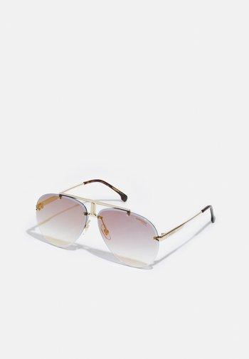 UNISEX - Sunglasses - goldhavana-coloured
