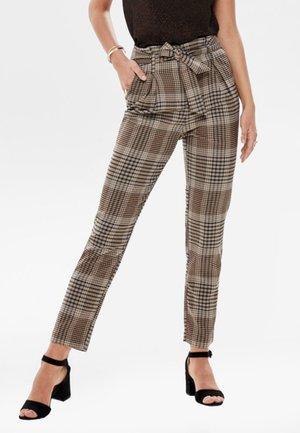 Spodnie materiałowe - silver filigree