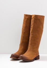 Felmini Wide Fit - COOPER - Laarzen - brown - 4
