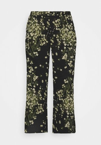 WIDE LEG TROUSERS PRINTED
