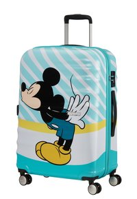 American Tourister - WAVEBREAKER DISNEY - Wheeled suitcase - mickey blue kiss - 2