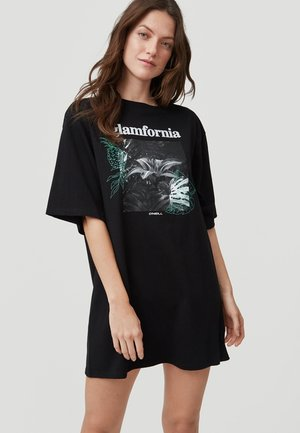 GRAPHIC - Print T-shirt - black out