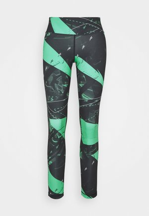 WORKOUT READY PRINTED LEGGINGS - Tights - green
