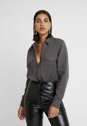 NMLILLA  - Button-down blouse - asphalt