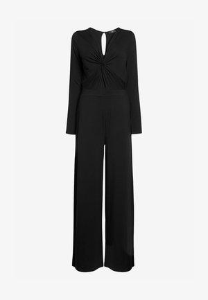 Jumpsuit - mottled black