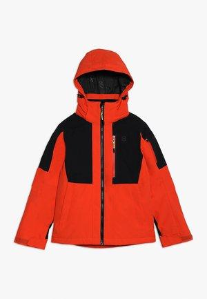 KELLET JACKET - Ski jacket - red clay