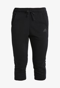 adidas Performance - SOLID - 3/4 sports trousers - noir - 5
