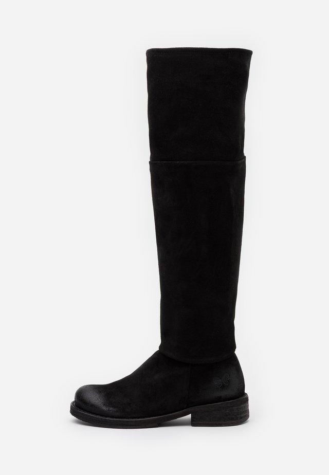 COOPER - Overknee laarzen - nirvan nero