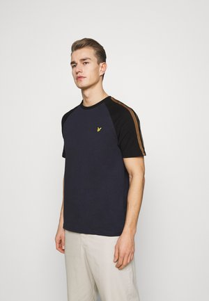 COLOUR BLOCK - T-shirt - bas - dark navy