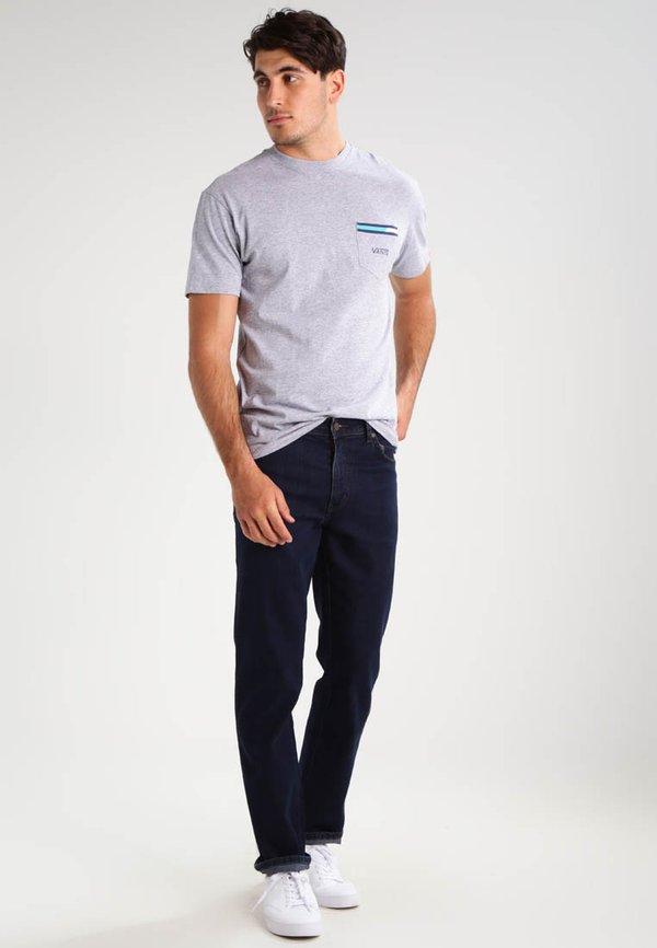 Wrangler TEXAS STRETCH - Jeansy Straight Leg - blue black/niebieski Odzież Męska ZRJB