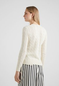 Polo Ralph Lauren - JULIANNA  - Strickpullover - cream - 2