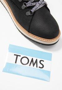 TOMS - MESA - Ankle boots - black - 7