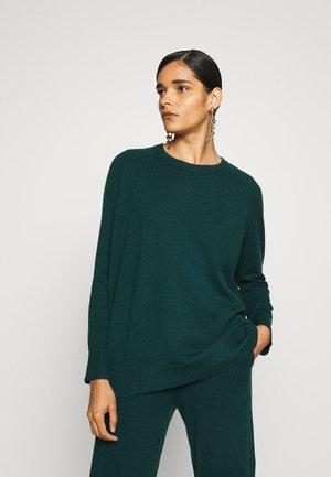 SLOUCHY - Jumper - bottle green