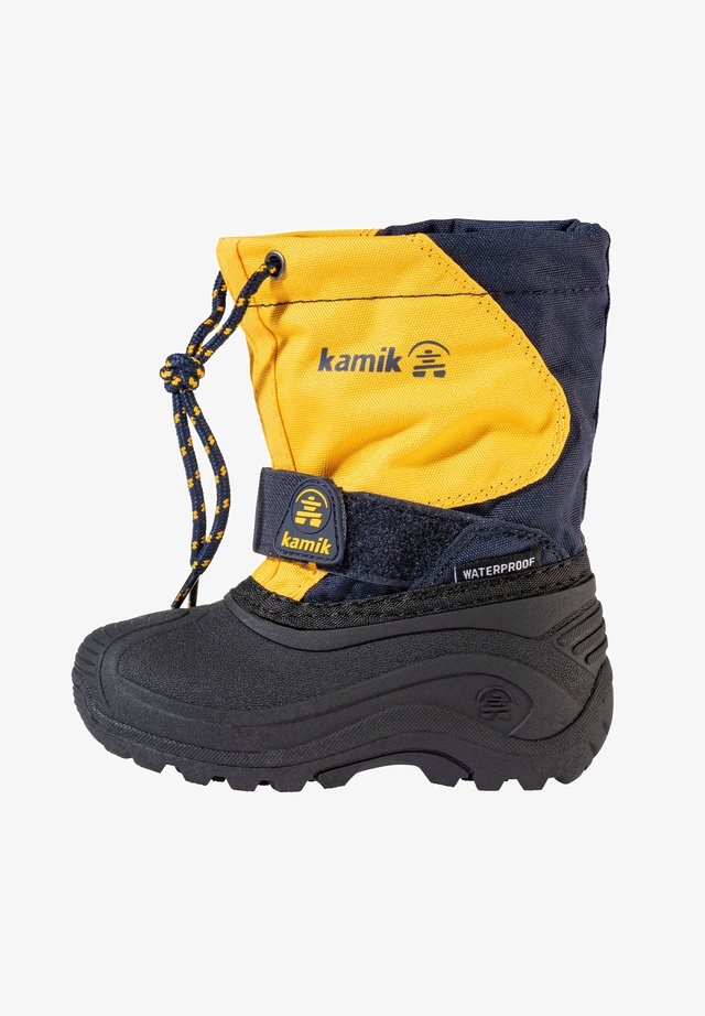 Winter boots - yellow-pacific