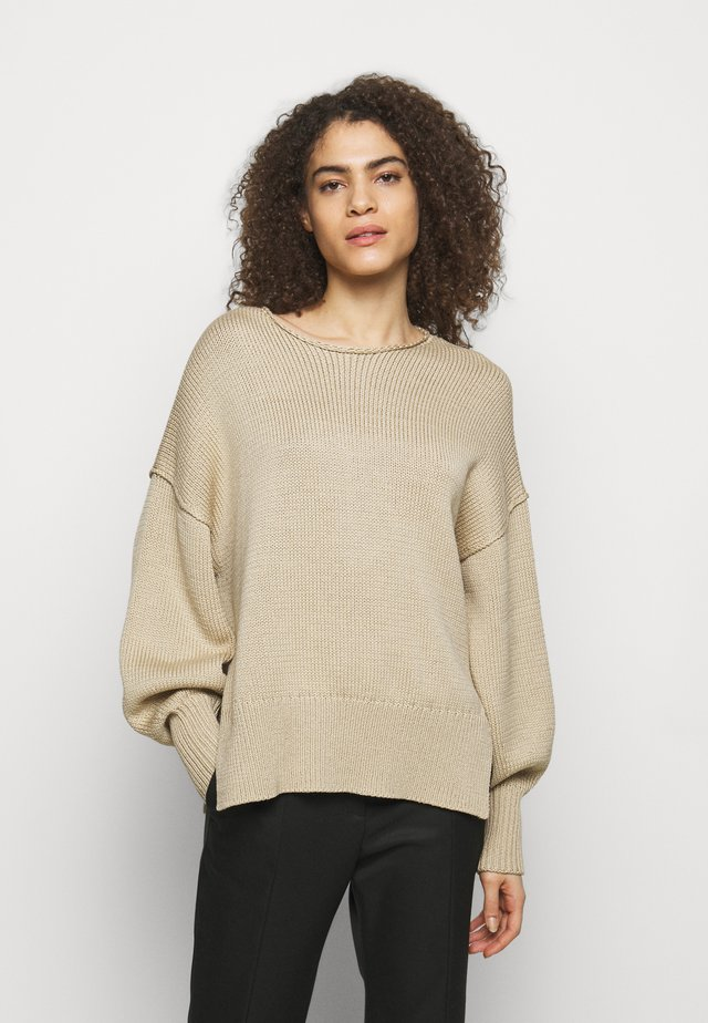 CHUNKY MERCE - Jersey de punto - light oat