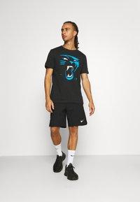 Fanatics - NFL CAROLINA PANTHERS REVEAL GRAPHIC - Club wear - black - 1