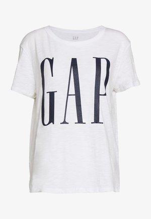 EASY TEE LOGO - T-shirts med print - white