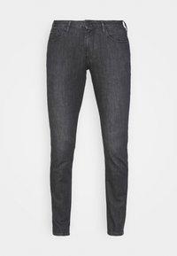 Emporio Armani - POCKETS PANT - Slim fit jeans - nero - 3