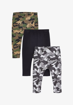 3 PACK - Leggings - Trousers - green