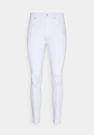 DESTROYED - Skinny džíny - white