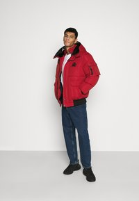 Kings Will Dream - MILFORD PUFFER JACKET - Veste d'hiver - red - 1