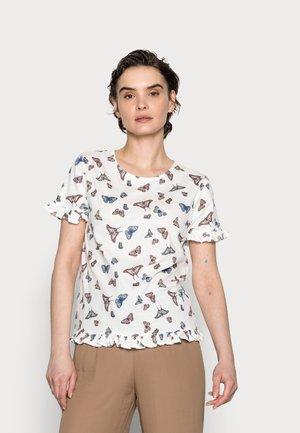 VOLANTE - Camiseta estampada - sand
