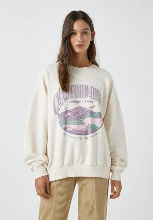 CRAWFORD PARK - Sweatshirt - beige
