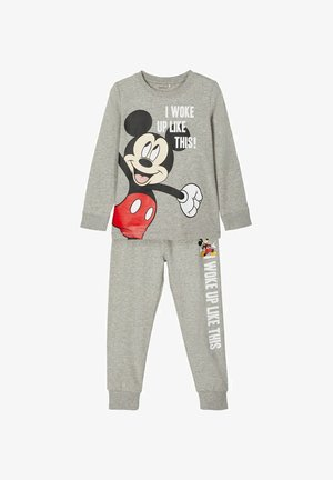 SET - Pyjama set - grey melange