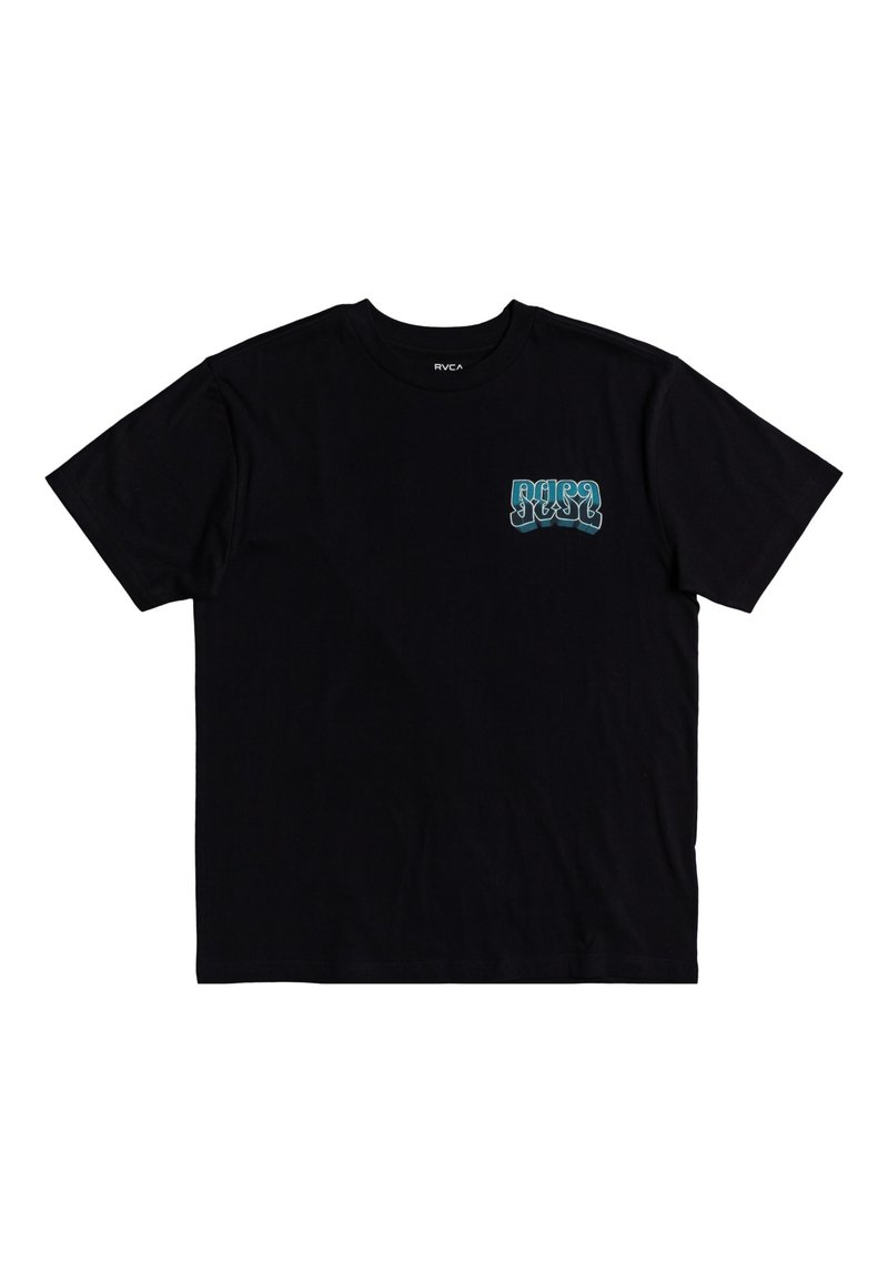 RVCA - MARTIN ANDER ADRESTIA - T-shirt imprimé - black