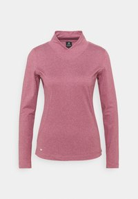 Daily Sports - AGNES MOCK NECK - Long sleeved top - plum - 0