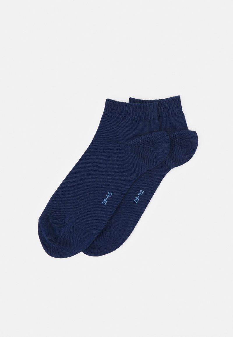 FALKE - HAPPY 2-PACK SNEAKER - Socks - royal blue