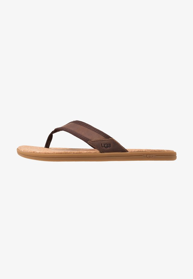 SEASIDE - Tongs - chestnut