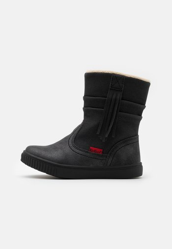 RUMBY - Classic ankle boots - noir brillant