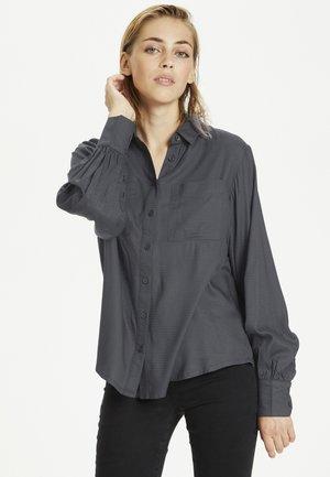 DRAWKB - Button-down blouse - castlerock