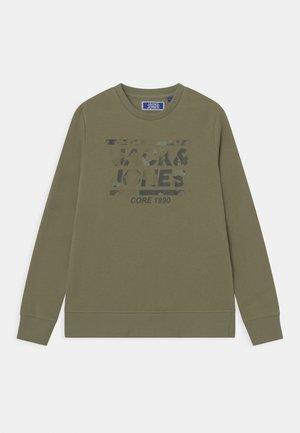 CREW NECK JR - Sweatshirt - oil green