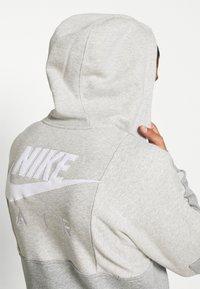 Nike Sportswear - AIR - Bluza rozpinana - grey heather/grey heather/white - 3