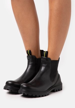 TREDTRAY - Platform ankle boots - black
