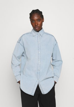 CACAO - Button-down blouse - denim blue