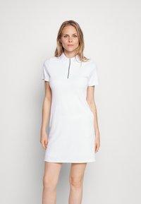 Calvin Klein Golf - EDEN DRESS SET - Sports dress - white black - 0