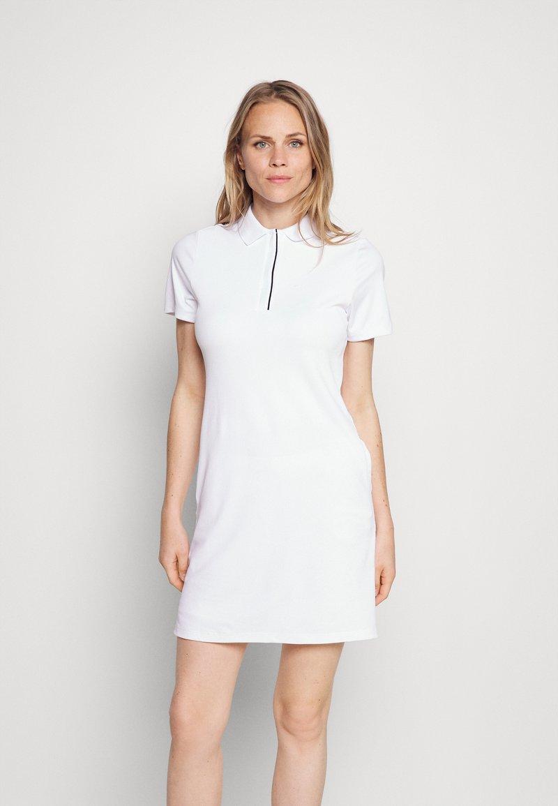 Calvin Klein Golf - EDEN DRESS SET - Sports dress - white black