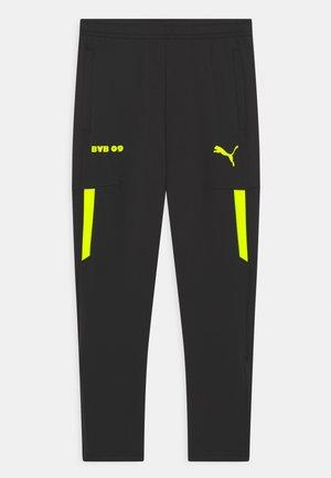 BVB BORUSSIA DORTMUND TRAINING PANTS UNISEX - Squadra - puma black/safety yellow