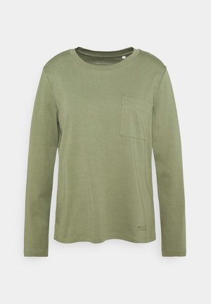 LONG SLEEVE ROUND NECK - Long sleeved top - dried sage