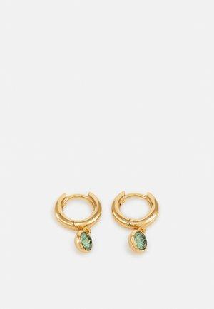 DROP HUGGIE HOOPS - Earrings - pale gold-coloured