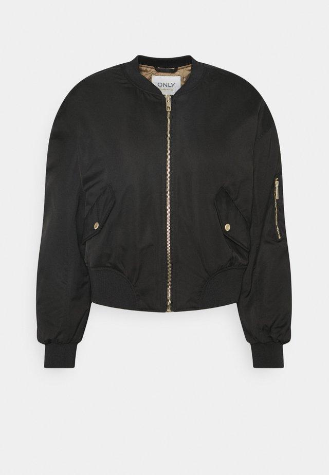 ONLPATTY SPRING JACKET - Bomber Jacket - black