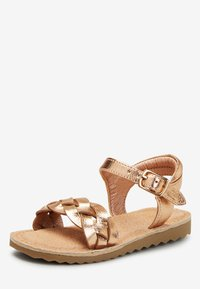 Next - ROSE GOLD BUCKLE TWIST SANDALS (YOUNGER) - Sandalen - gold - 2
