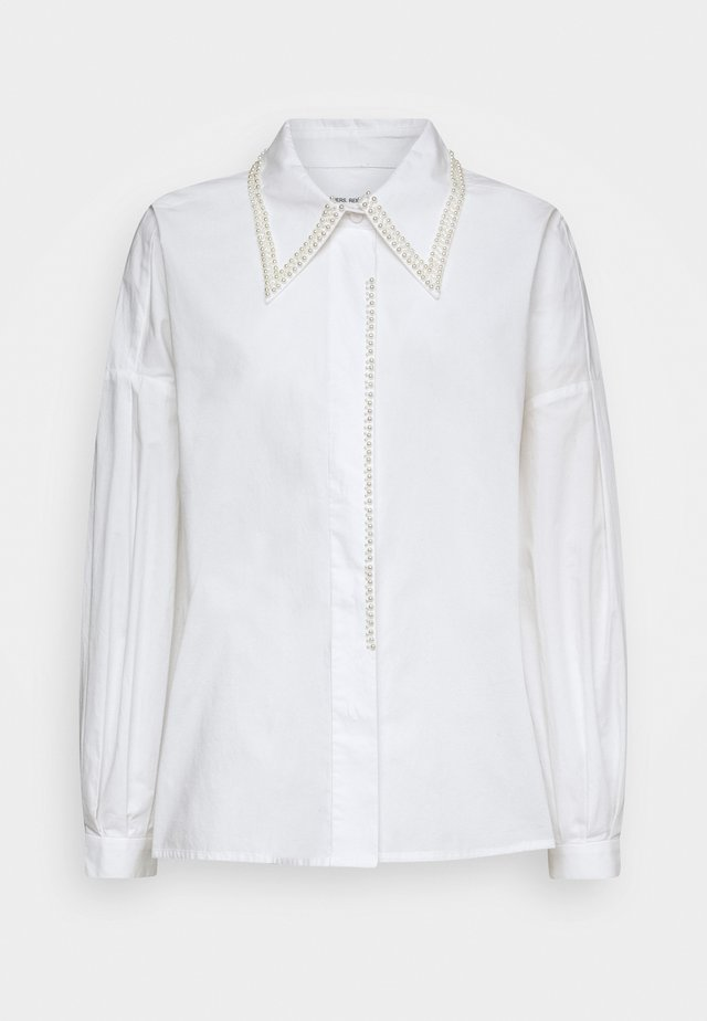 ANDREW PEARL - Button-down blouse - white