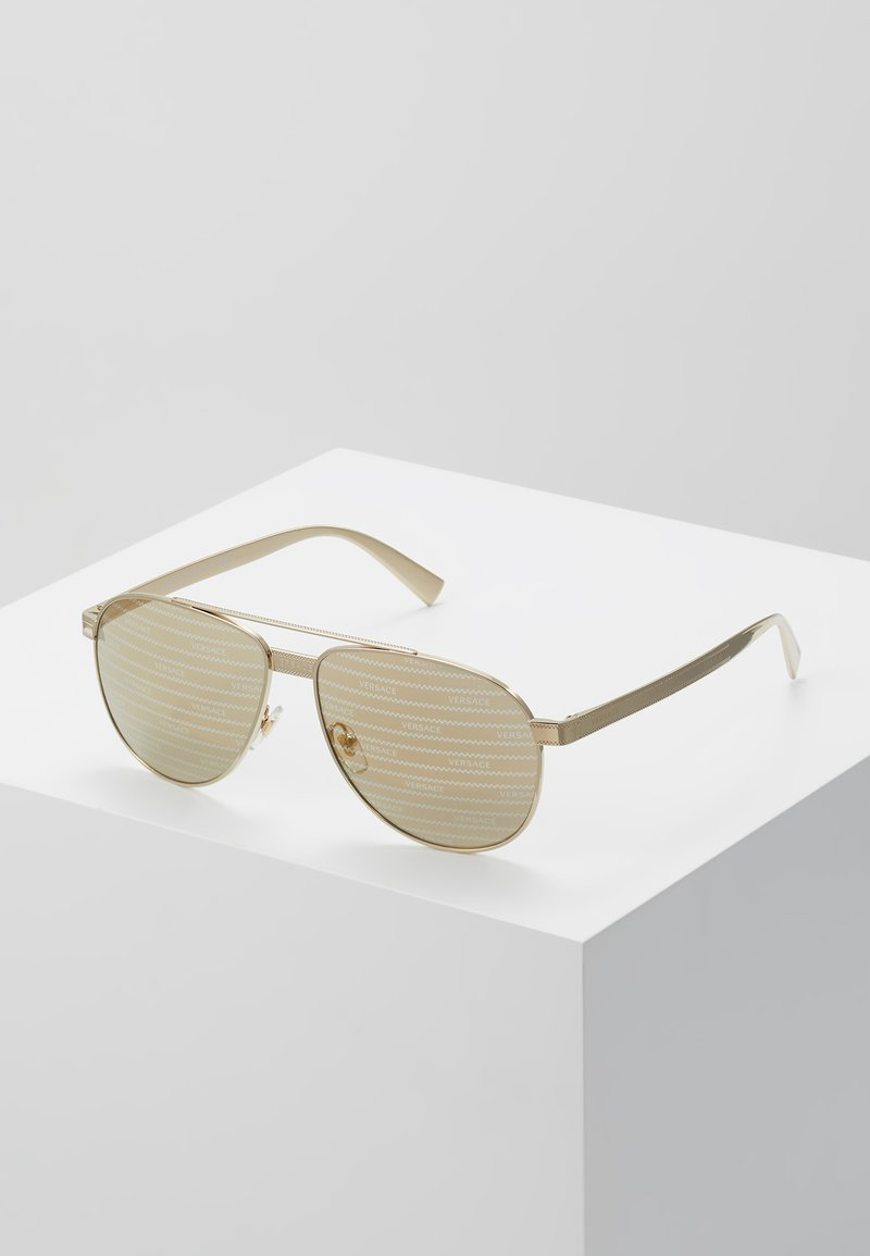 Versace - Sunglasses - gold-coloured/brown