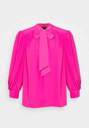 Topper langermet - bright pink